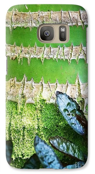 Galaxy Case featuring the photograph Shapes Of Hawaii 13 by Ellen Cotton