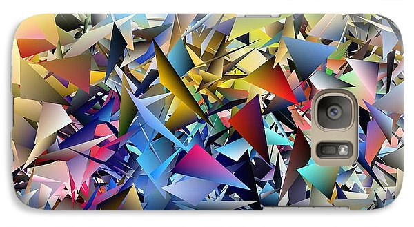 Galaxy Case featuring the photograph Shards 2 by Ludwig Keck