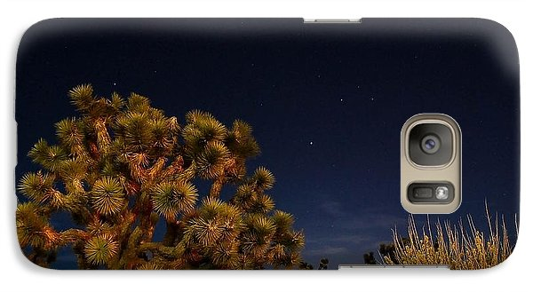 Galaxy Case featuring the photograph Sharing The Land by Angela J Wright