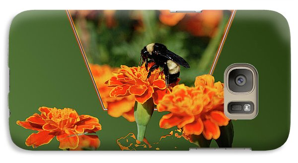 Galaxy Case featuring the photograph Sharing The Nectar Of Life by Thomas Woolworth