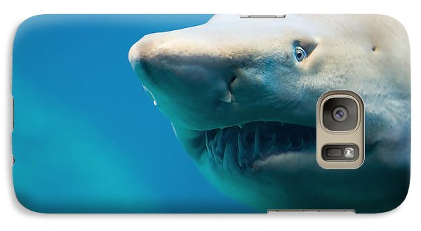 Bull Galaxy S7 Case - Shark by Johan Swanepoel