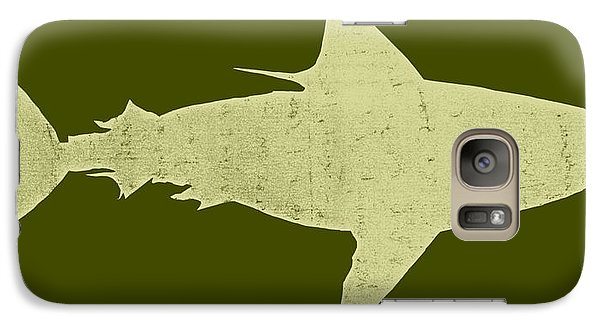 Shark Galaxy Case by Michelle Calkins