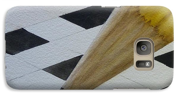 Galaxy Case featuring the painting Sharpen Your Pencil For This Puzzle by Kelly Mills