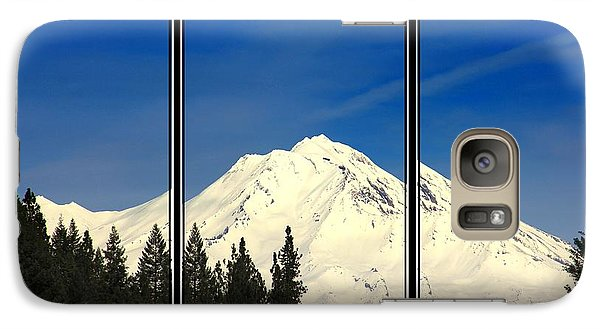 Galaxy Case featuring the photograph Shasta by Athala Carole Bruckner