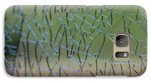 Galaxy Case featuring the photograph Shattered by Amber Kresge