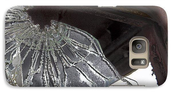 Galaxy Case featuring the photograph Shattered by Lynn Sprowl