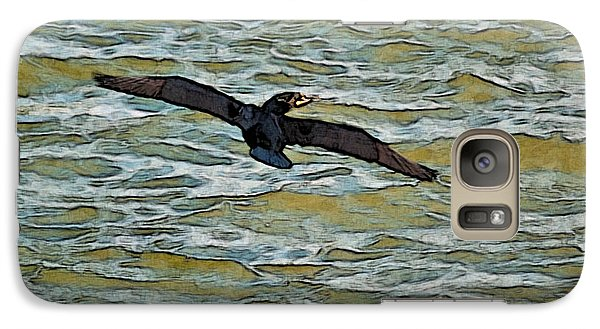 Galaxy Case featuring the photograph Shawnee Lake Wild Duck 3 by G L Sarti