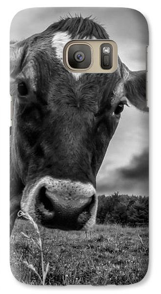 Pasture Galaxy S7 Case - She Wears Her Heart For All To See by Bob Orsillo