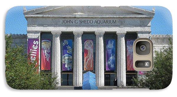 Galaxy Case featuring the photograph Shedd Aquarium-1 by Kathie Chicoine
