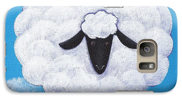 Sheep Nursery Art Galaxy S7 Case