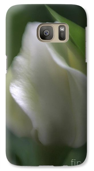 Galaxy Case featuring the photograph Sheer Elegance by Mary Lou Chmura