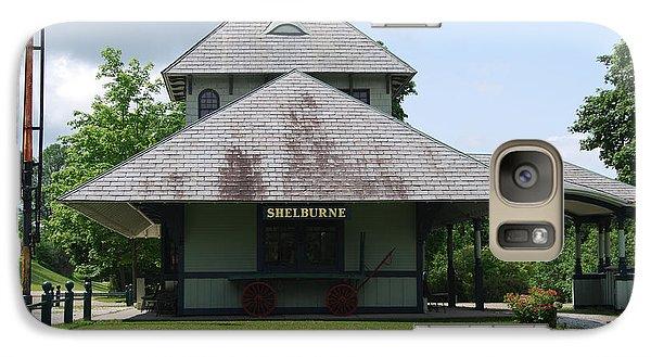 Galaxy Case featuring the photograph Shelburne Depot by Caroline Stella