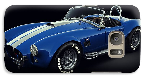 Shelby Cobra 427 - Bolt Galaxy S7 Case by Marc Orphanos