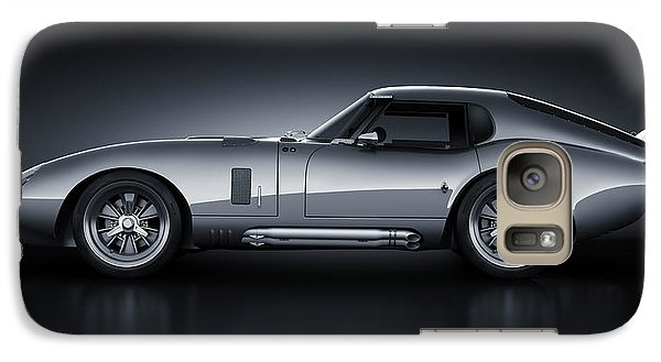 Galaxy Case featuring the digital art Shelby Daytona - Bullet by Marc Orphanos