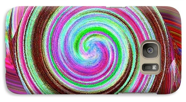 Galaxy Case featuring the digital art Shell Shocked by Catherine Lott
