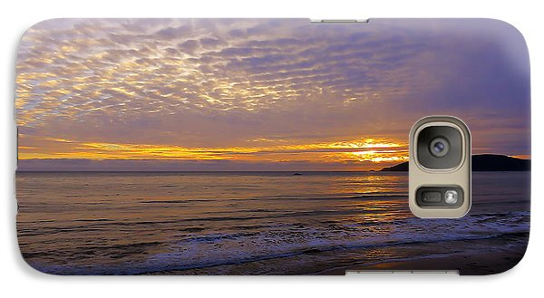 Galaxy Case featuring the photograph Shellfire by Paul Foutz