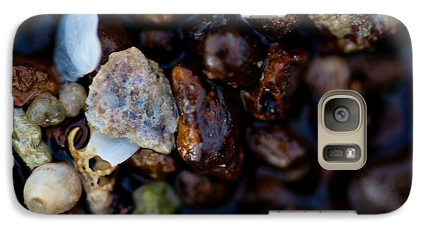 Galaxy Case featuring the photograph Shells With Bauxite by Carole Hinding