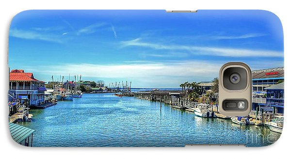 Galaxy Case featuring the photograph Shem Creek by Kathy Baccari