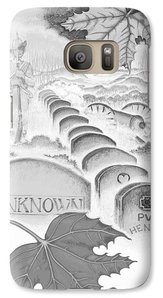 Galaxy Case featuring the digital art Shenandoah  by Carol Jacobs
