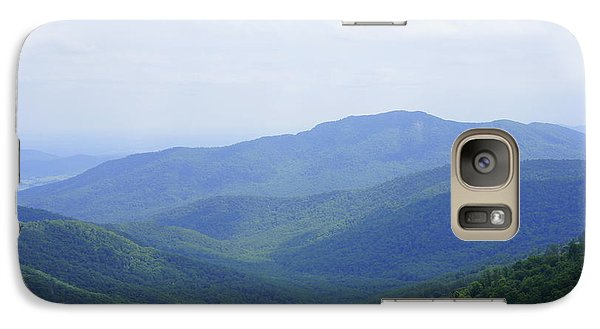 Galaxy Case featuring the photograph Shenandoah View by Laurie Perry