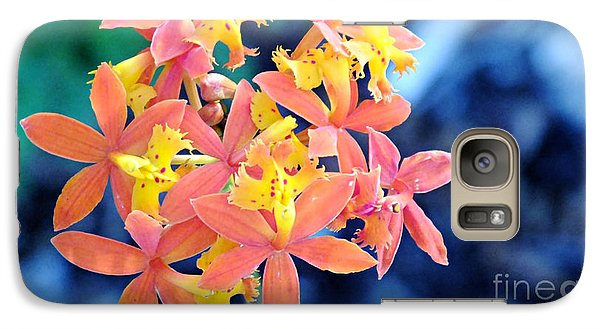 Galaxy Case featuring the photograph Sherbert Of The Sun by Joy Angeloff