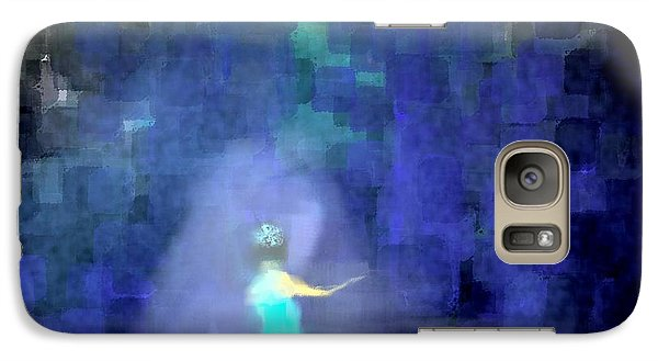 Galaxy Case featuring the painting She's Going For The Gold by Jessica Wright