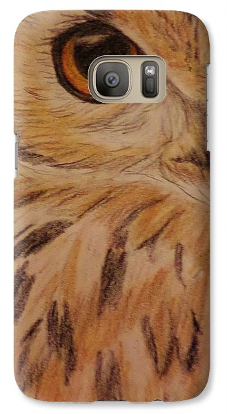 Galaxy Case featuring the drawing She's Got The Look by Christy Saunders Church
