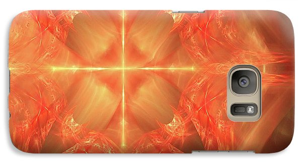 Galaxy Case featuring the digital art Shield Of Faith by Margie Chapman