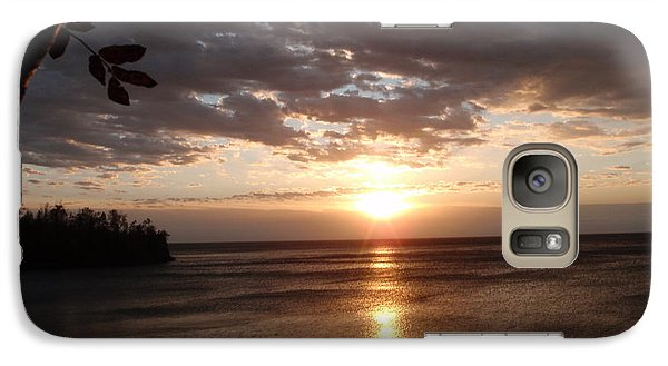 Galaxy Case featuring the photograph Shimmering Sunrise by James Peterson
