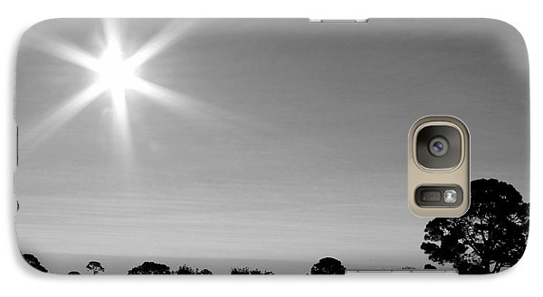 Galaxy Case featuring the photograph Shine And Rise by Faith Williams