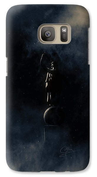 Galaxy Case featuring the photograph Shine Forth In Darkness by Greg Collins