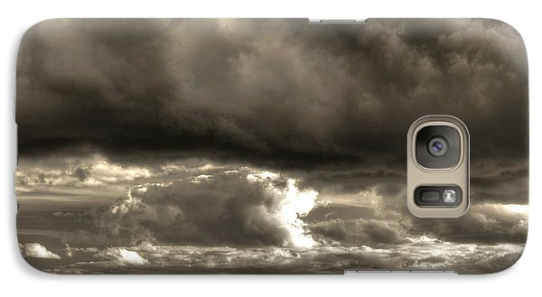 Galaxy Case featuring the photograph Shining Through by Greg DeBeck