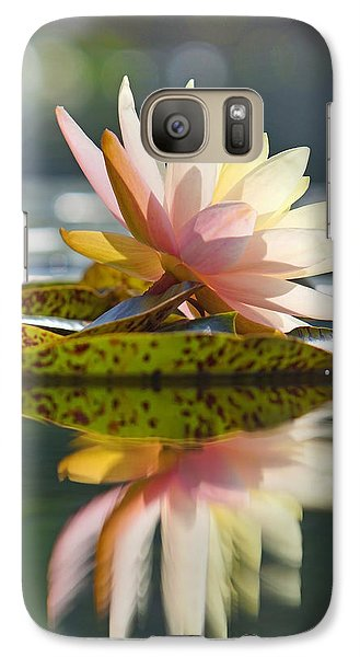 Shining Water Lily Galaxy S7 Case