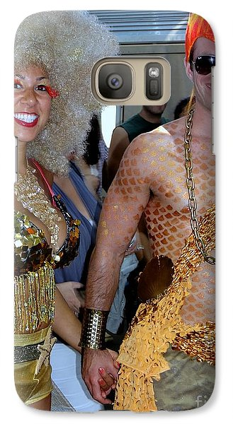 Galaxy Case featuring the photograph Shiny Happy People by Ed Weidman