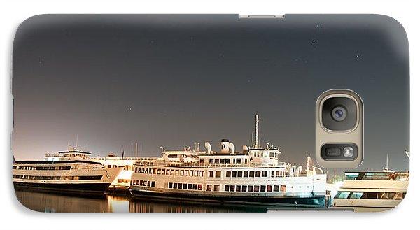 Galaxy Case featuring the digital art Ship by Gandz Photography