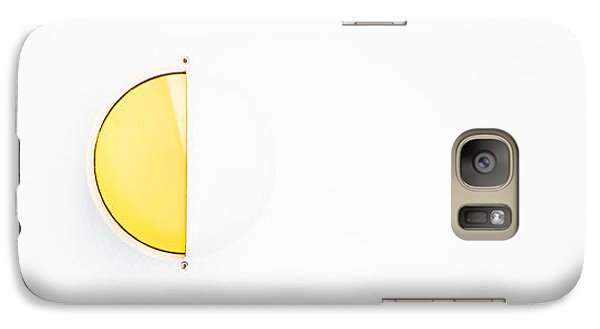 Galaxy Case featuring the photograph Ship Light by Darryl Dalton