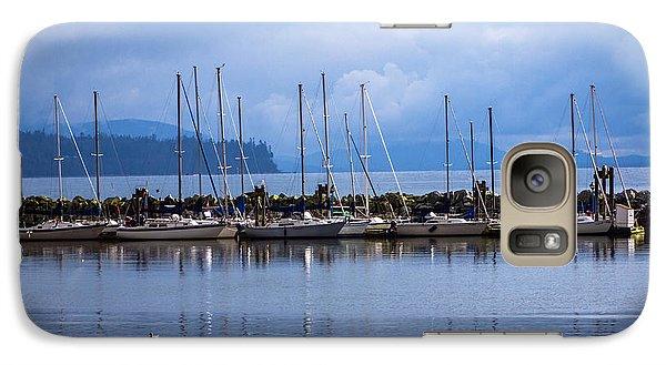 Galaxy Case featuring the photograph Ship To Shore by Jordan Blackstone