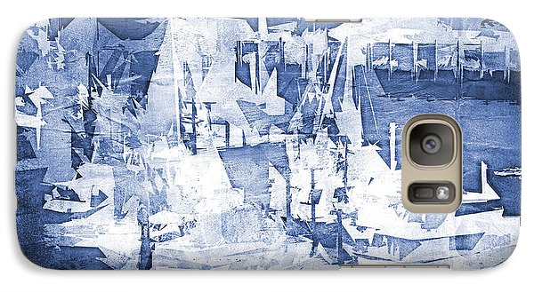 Galaxy Case featuring the photograph Ships In The Water by Davina Washington