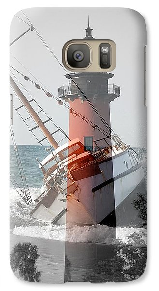 Galaxy Case featuring the photograph Shipwreck by George Mount