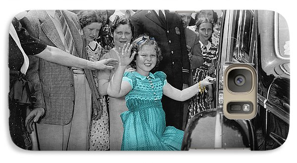 Shirley Temple Galaxy Case by Andrew Fare