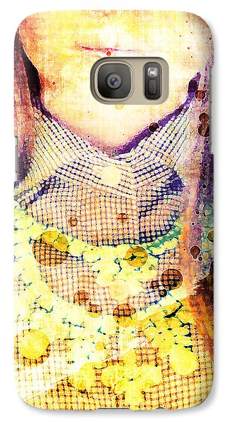 Galaxy Case featuring the digital art Shirt And Necklace by Andrea Barbieri