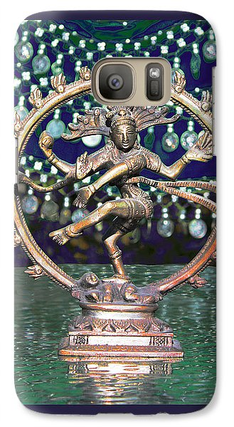 Galaxy Case featuring the photograph Shiva Upon The Water by Susan Alvaro