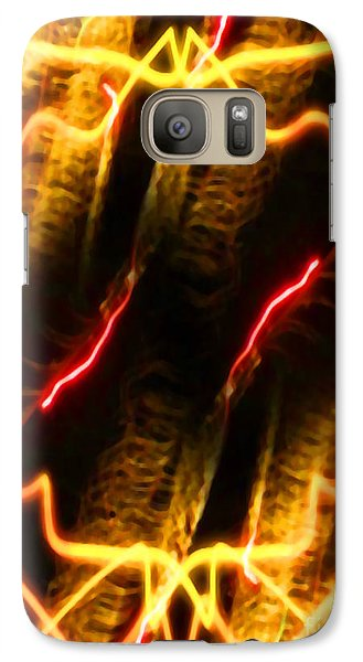 Galaxy Case featuring the digital art Shock Treatment by Gayle Price Thomas
