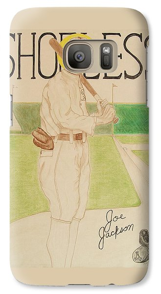 Galaxy Case featuring the painting Shoeless Joe Jackson by Rand Swift