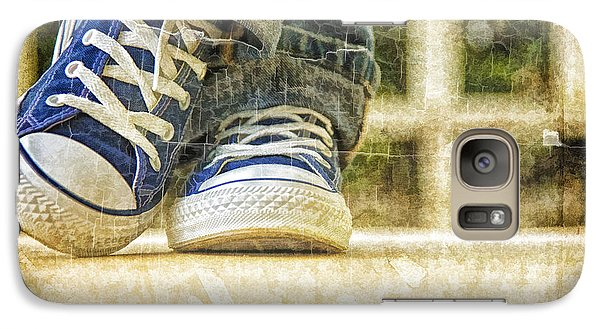 Galaxy Case featuring the photograph Shoes by Linda Blair
