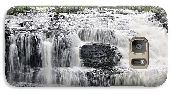Galaxy Case featuring the photograph Shohola Falls by Dan Myers