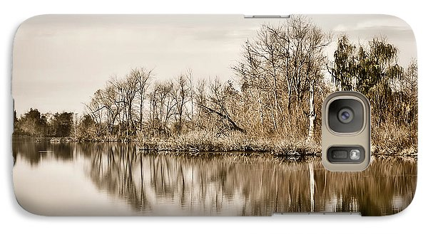Galaxy Case featuring the photograph Shoreline 1 by Greg Jackson