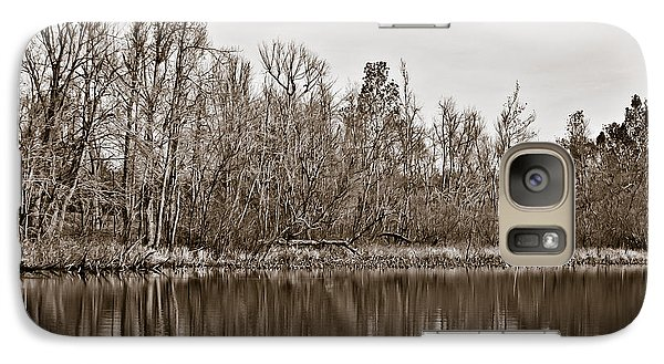 Galaxy Case featuring the photograph Shoreline 5b by Greg Jackson
