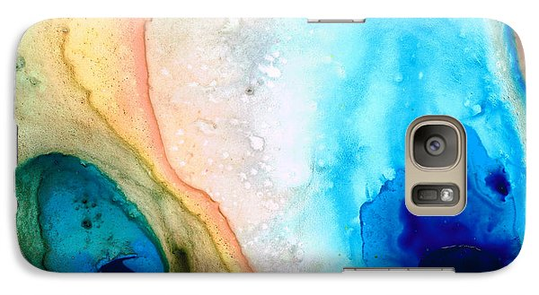Shoreline - Abstract Art By Sharon Cummings Galaxy S7 Case