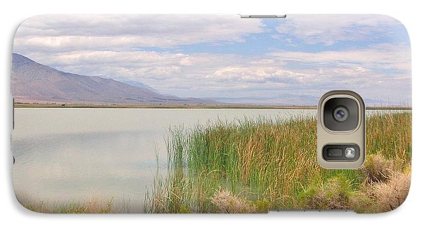 Galaxy Case featuring the photograph Shoreline by Marilyn Diaz